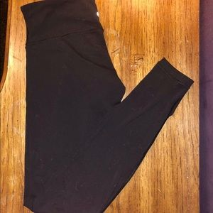 Lululemon full length, high rise leggings.